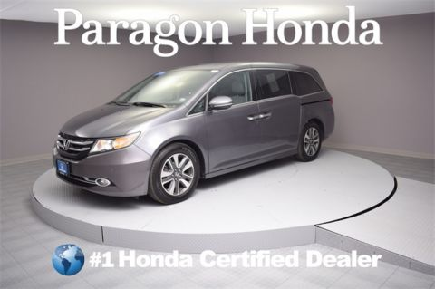 Certified Pre-Owned 2014 Honda Odyssey Touring
