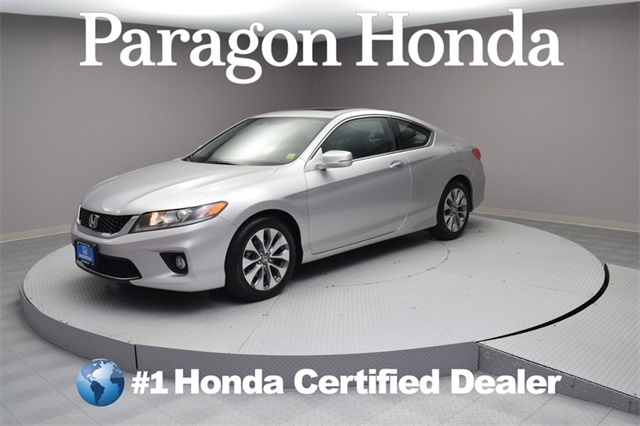 Certified Pre Owned 2015 Honda Accord EX L