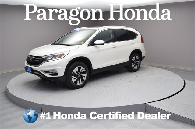 Exceptional Certified Pre Owned 2015 Honda CR V Touring