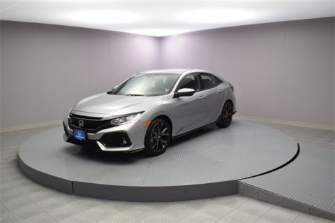 Certified Pre-Owned 2018 Honda Civic Sport